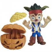 Jake and the Neverland Pirates Halloween Jake Werewolf with Pumpkin Treasure Chest and Gold Doubloon Coins by