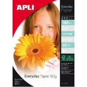 agipa Apli agipa 12080 : papier photo Everyday A4 brillant 180 g/m² - Poch 20 feuilles