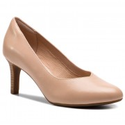 Обувки CLARKS - Dancer Nolin 261416954 Blush Leather