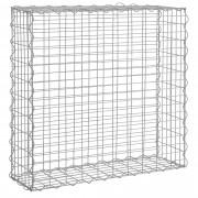 [pro.tec]® 1x gavión (100 x 100 x 30 cm) gavión de piedras - muro de piedras - enrejado