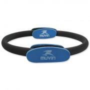 Anel de Pilates ANP-100 Preto/Azul - Muvin
