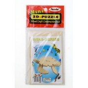 Puzzled - Mini 3D Puzzles - TURTLE (6 Pieces)