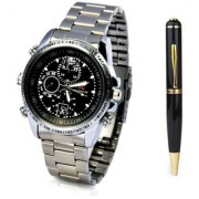 Spy Pen Spy Watch Audio/Video Recording Watch Spy Product