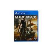 Mad Max PlayStation 4