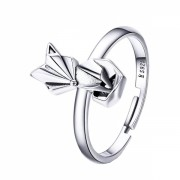 Inel argint 925 KRASSUS Foxie, marime universala, model vulpe