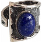 Inel din argint cu piatra lapis lazuli IN1706