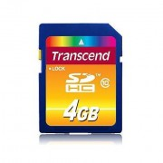 Transcend Memory Card 4gb Sdhc Class 10