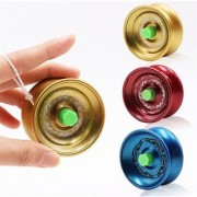 Fine Quality High Gloss high Speed Metal YoYo Toy (1 pcs) (Color May Vary) (Glossy Metal)