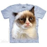 3D zvířecí tričko - Kocour