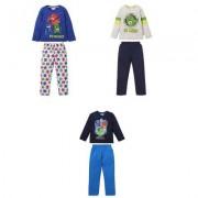 PJ Masks Pyjamashjältarna, pyjamas, barn (Mörkblå, 3 ÅR - 98 CM)