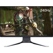 "Alienware - 24.5"" IPS LED FHD FreeSync and G-SYNC Compatible Monitor (DisplayPort, HDMI, USB) - Lunar Light"