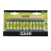 Calex 12-Pack AA batteries - Penlite Alkaline Longlife