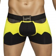Candyman The Caped Crusader Mesh Back Costume Boxer Brief Underwear Black 99034