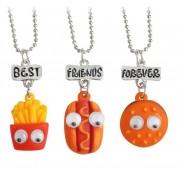 Set Medalioane Lantisoare BFF Best Friend Friends m5