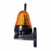 Max JD06 LED Maják výstražný s anténou 12-230V oranžový