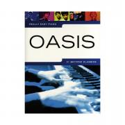 Music Sales Really Easy Piano - Oasis - 21 Britpop Classics Libro de