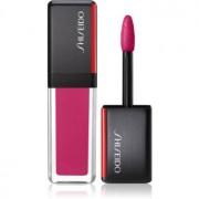 Shiseido LacquerInk LipShine течно червило за хидратация и блясък цвят 303 Mirror Mauve (Natural Pink) 6 мл.