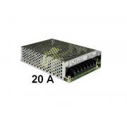 Alimentatore Stabilizzato SWITCHING 12V Volt 20A Ampere continui Trimmer-abile