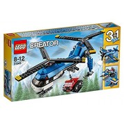 Lego Twin Spin Helicopter, Multi Color
