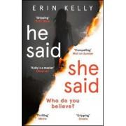 He Said/She Said, Paperback