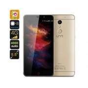 Pré-commande UMi Max Smartphone - Octa-Core CPU, RAM 3GB, Mali-T860 GPU, 5.5 pouces FHD Display, 4000mAh, Android 6.0, 4G (Gold)