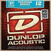 Dunlop 3PDAP1254 Acoustic Phosphor Bronze Guitar Strings Light .012-.054 3 Sets/Box