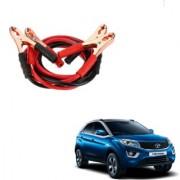 Auto Addict Premium Quality Car 500 Amp Heavy Duty Copper Core Tangle Battery Booster Cable 7.5 Ft For Tata Nexon