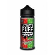 Lichid Tigara Electronica Ultimate Puff Candy Drops Strawberry Melon, 100ml, Fara Nicotina, 70VG / 30PG, Fabricat in UK, Premium
