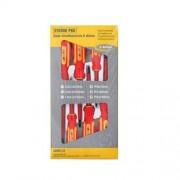 Set surubelnite electricieni Strend Pro SD0118, VDE 1000V, 6 buc, Cr-V Autolux