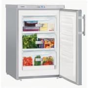 Congelator Liebherr Gsl 1223, 98 L, SmartFrost, Control taste, Display, SuperFrost, 3 sertare, H 85.1 cm, A+, Argintiu