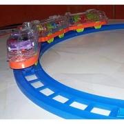 Akshata Train Set Battery Operated Track Toy Train for kids