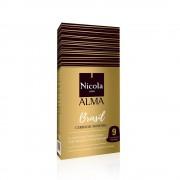 Capsule Nicola Cafes Brazil Single Origin, compatibile Nespresso, 10 capsule
