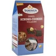 Biscuiti Bio din Faina de Alac Integral cu Ciocolata Amaruie si Alune Sommer 150gr