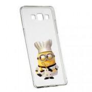 Husa de protectie Minion Chef Samsung Galaxy Core Prime rez. la uzura anti-alunecare Silicon 215