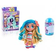 Set Papusa Hairdorables cu accesorii + Set de colorat suflarici spray 24 culori My Little Pony