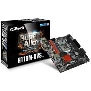 MB, ASRock H110M-DVS R3.0 /Intel H110/ DDR4/ LGA1151 (H110M-DVS_R3.0_3Y)