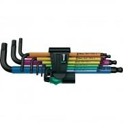 Комплект шестостенни ключове Multicolour (9 бр.)