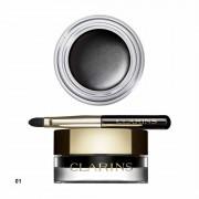 Clarins Gel Eyeliner Waterproof With Brush N. 01