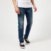 Diesel Men's Larkee-Beex Tapered Jeans - Mid Blue - W30/L30 - Blue