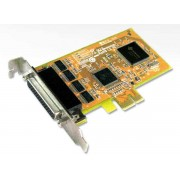 Sunix SER5456AL RS-232 Serial 4-port PCI-E Card (LowPro)