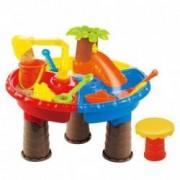 Masuta de joaca pentru apa si nisip rotunda Palmier