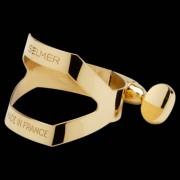 Selmer SM-B14NL Ligadura, dorado p. Boquilla de cauche Sax Barítono