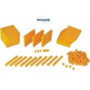 Joc educativ Baza 10 Set 121 piese la punga Miniland