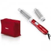 Уред за оформяне на косата с горещ въздух VALERA 602.01B Pro Style 400 Tourmaline, 2 приставки, Мощност 400 W, Бял/Червен