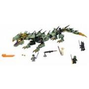 LEGO NINJAGO - Robotul-balaur ninja verde - L70612