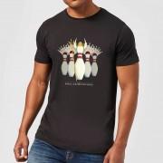 Big Lebowski Camiseta El gran Lebowski Bolos Chica - Hombre - Negro - M - Negro