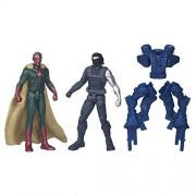 Marvel Captain America Civil War Winter Soldier Vs Marvel's Vision, Multi Color
