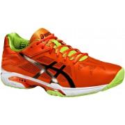 ASICS tennisschoenen Gel Solution Speed 3 heren oranje maat 40,5