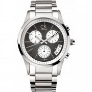 Calvin Klein Bold Chronograph Watch K2247107 - Silver
