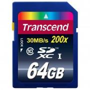 Card Transcend SDXC 64GB Class 10 200x